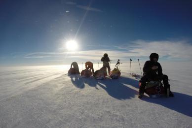 expédition ski pulka en islande