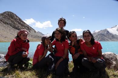 Premiere femme guide tadjike