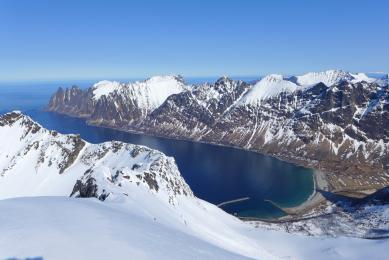 """""""Ski de randonnee"""" norvege """"cercle polaire"""" """"ski de rando"""" freerando"""