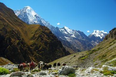 Népal découverte Mustang trekking randonnée
