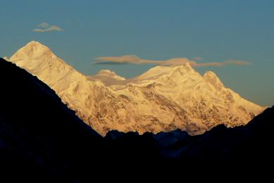 Contre-fort du Kangchenjunga