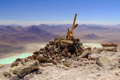 Laguna Verde Licancabur Bolivie chilie atacama Uyuni Argentine voyage trek trekking