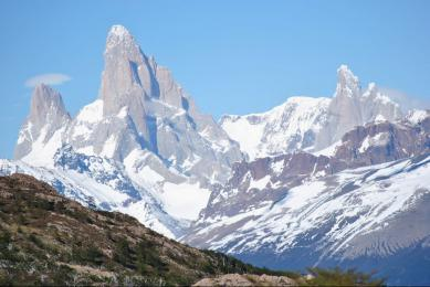 Lagunes glaciers Argentine Patagonie Trekking cordillère andes