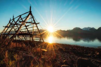 voyage photo spécial aurores boréales en Norvège au-delà du cercle polaire