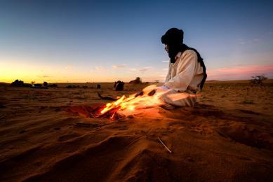 voyage photo désert sahara chamelier mauritanie photographique guide