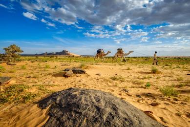 voyage photographique dans le désert du sahara en mauritanie avec atelier photographique avec un guide