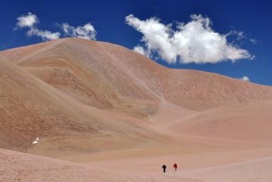 Atacama Argentine Llullaillaco trek randonnée exploration