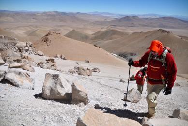 Exploration Trek Atacama Désert Argentine Llullaillaco expédition