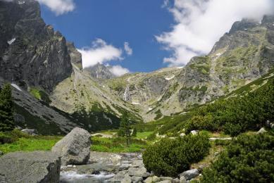 Marche découverte Slovaquie massifs montagneux hautes tatras