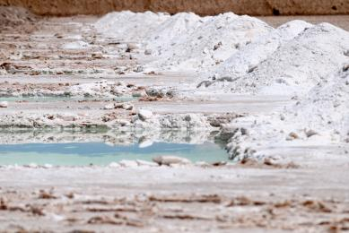 Salar Atacama Argentine désert Llullaillaco