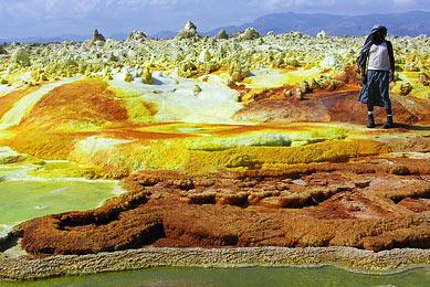 Ethiopie - Dans le Dallol - voyage trek en Ethiopie