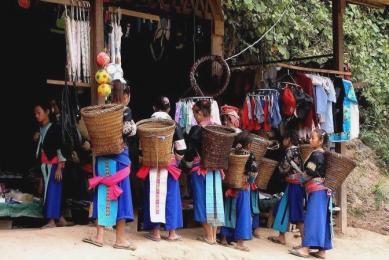 Voyage randonnée au Laos