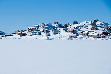 raquettes Groenland Côte Est Inuit découverte