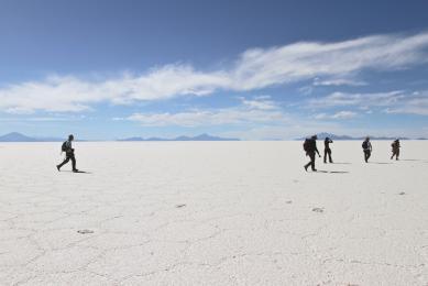 Salar d'Uyuni Trek Trekking voyage aventure découverte Chili Bolivie Argentine