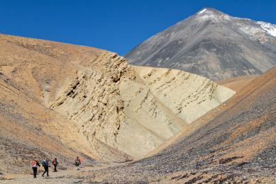 NEPAL TREK TREKKING MUSTANG DAMODAR SOMMET EXPLORATION VOYAGE TIBET