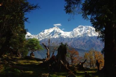 Népal trek trekking Annapurna Annapurnas voyage Népal himalaya haute route