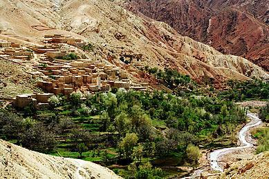 trek haut Atlas kasbahs Aït Ben Haddou Telouet