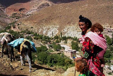 randonnée muletière maroc