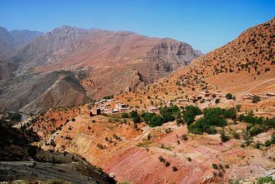 trek au maroc nord haut atlas