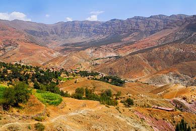 Maroc randonnée trek haut atlas central