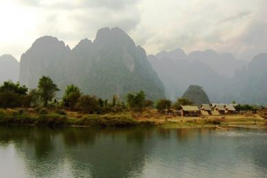 Trek  Laos fleuve Mékong rencontres