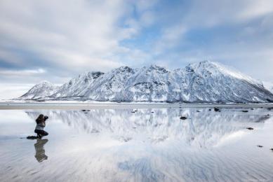 voyage en Laponie, aurores boréales, photographie et observation confort, voyage confortable en Laponie en hiver