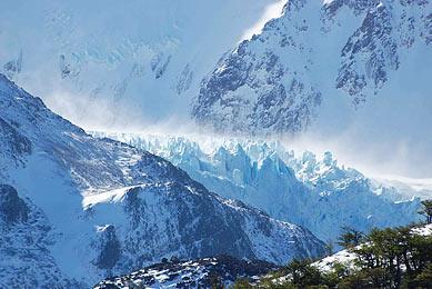 Trekking Patagonie Chili Argentine glaciers cordillère des andes exploration