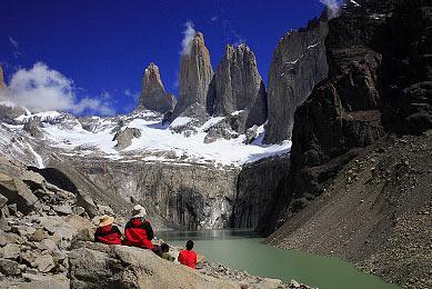 Trek Torres del Paine Chili glaciers montagnes sommet exploration