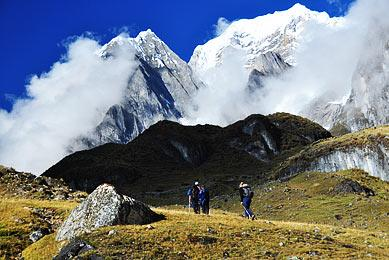 Trekking Cordillère Huayhuash Pérou Exploration Glacier