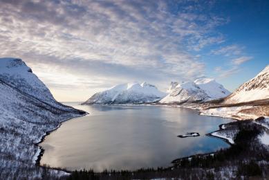 paysage voyage photo aurores boreales norvege cercle polaire